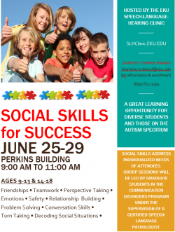 Social Skills for Success